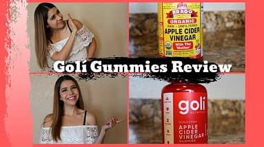 GOLI GUMMIES REVIEW - Vinagre de manzana en gomitas???!
